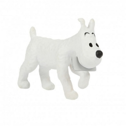Collectible figurine Tintin, Snowy Messenger 4cm Moulinsart 42510 (2020)