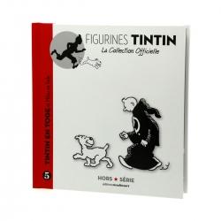 Figurine de collection Tintin en toge avec Milou Hors-Série N°5 42172 (2014)