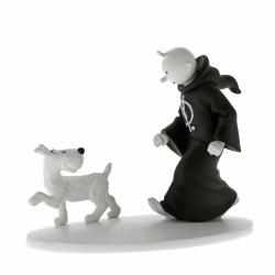 Figura de colección Tintín en túnica con Milú Hors-Série N°5 42172 (2014)