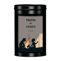 Café molido Moulinsart Tintín en el congo coloreado, Fogata (250g)