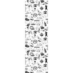 Marque-page en papier Blake et Mortimer, Dessins en noir et blanc (25x80mm)