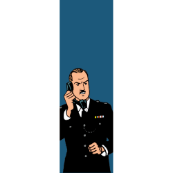 Marque-page en papier Blake et Mortimer, So British (25x80mm)