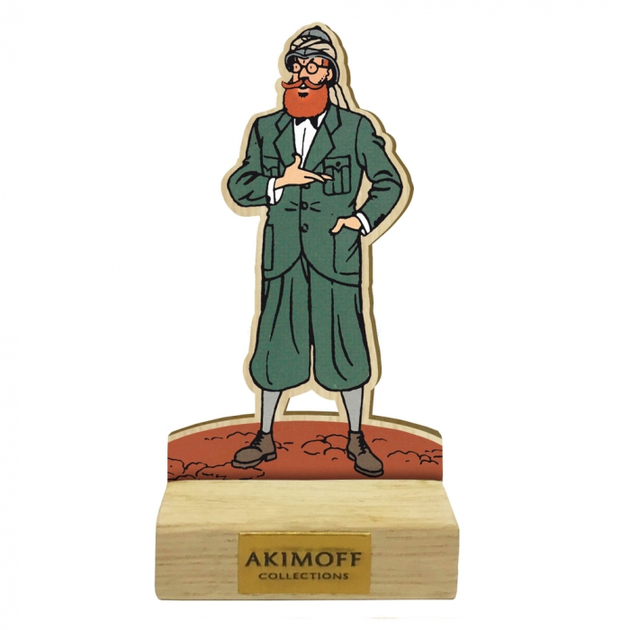 Collectible wood figurine Akimoff Blake and Mortimer, Grossgrabenstein (2020)