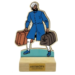Collectible wood figurine Akimoff Blake and Mortimer, Ahmed Nasir (2020)