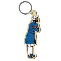 Wood keychain figurine Akimoff Blake and Mortimer, Nasir (2020)