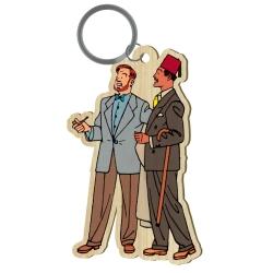 Porte-clés figurine en bois Akimoff Blake et Mortimer, Ahmed Rassim Bey (2020)