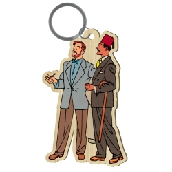 Wood keychain figurine Akimoff Blake and Mortimer, Ahmed Rassim Bey (2020)