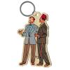 Wood keychain figurine Akimoff Blake and Mortimer, Ahmed Rassim Bey (2020)