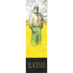Marcapáginas de papel Blacksad, Amarillo (50x170mm)