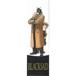 Paper Bookmark Blacksad, John and Weekly (50x170mm)