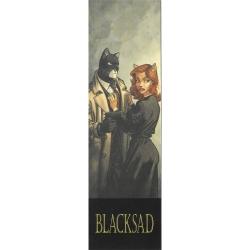 Marque-page en papier Blacksad, John et Donna la chatte (50x170mm)
