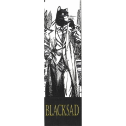 Marque-page en papier Blacksad, New York (50x170mm)