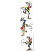 Marque-page en papier Lucky Luke, en train de tirer (50x170mm)