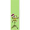 Marque-page en papier Marsupilami, avec une fleur (50x170mm)