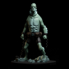 Figurine de collection en résine Fariboles Hellboy, Abe Sapien HEL4 1/8 (2020)