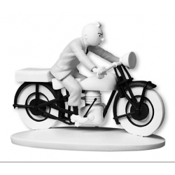 Collection figurine Tintin Riding the Motorbike Hors-Série N°8 42175 (2015)