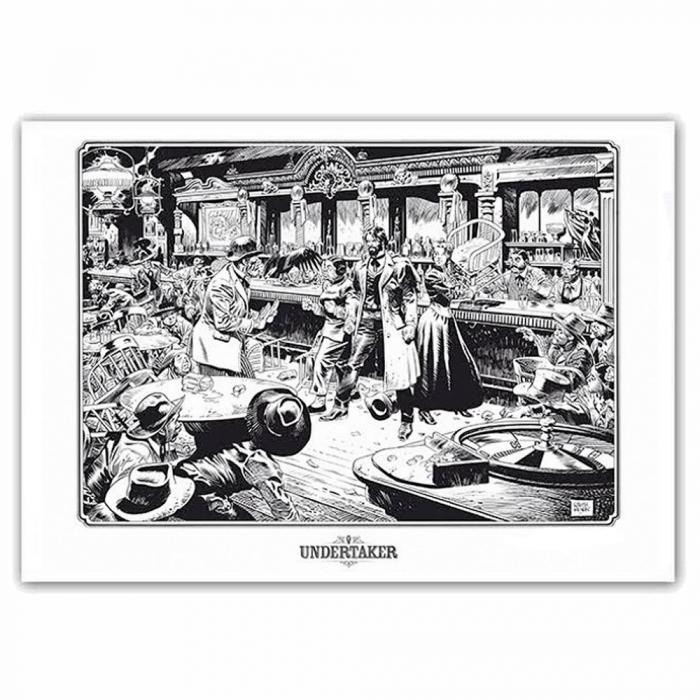 Poster offset Undertaker, in the Bar Ralph Meyer (70x50cm)