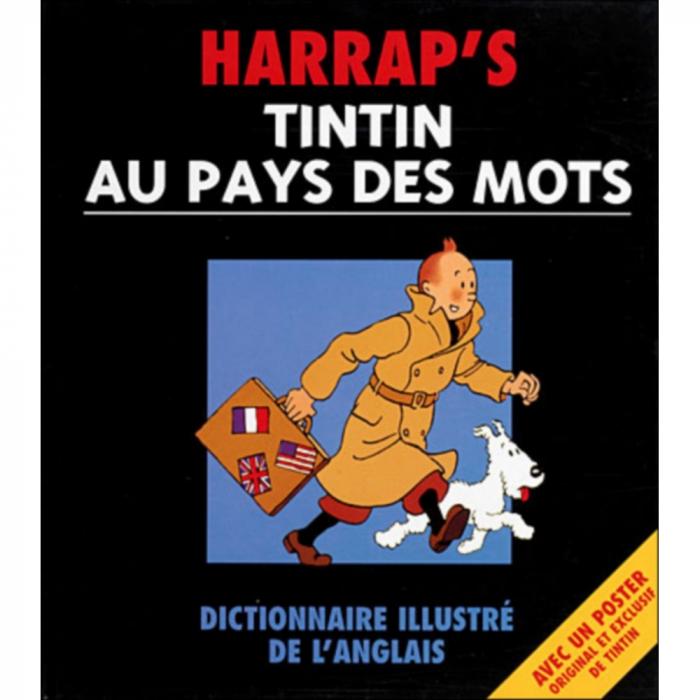 Harrap's Tintin au pays des mots, dictionnaire illustré de l'anglais FR (2000)