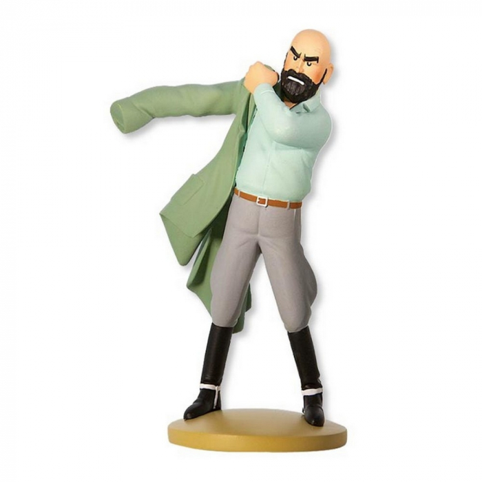 Figurine de collection Tintin, Müller réapparaît 12cm Nº64 (2014)