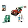 Planche d'autocollants Moulinsart Atlas Tintin au pays de l'or noir (2012)