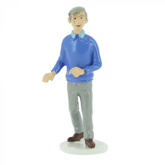 Tintin figurine Hergé collection Carte de voeux 1972 (46524)
