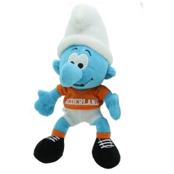 Soft Cuddly Toy Puppy The Smurfs: The Smurf Supporter 20cm (755299)