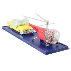 Coche de colección Tintín: Helicóptero Bell y Chrysler NY Deluxe Nº47/48 (2005)