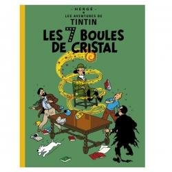 Álbum de Tintín: Les 7 boules de cristal Edición fac-similé colores 1948