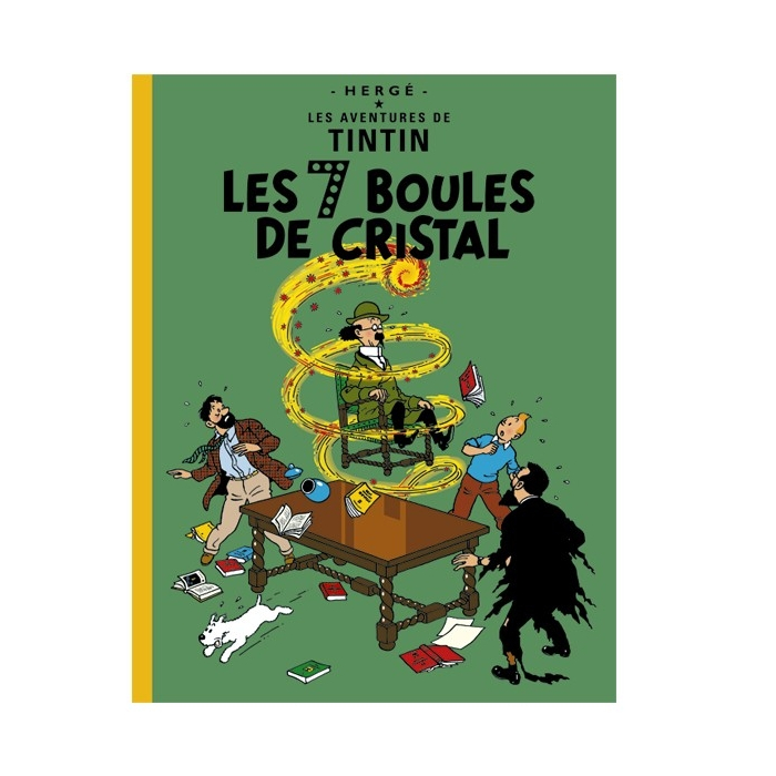 Tintin album: Les 7 boules de cristal Edition fac-similé colours 1948