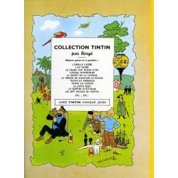 Tintin album: Les 7 boules de cristal Edition fac-similé colours 1948