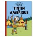 Álbum de Tintín: Tintin en Amérique Edición fac-similé colores 1976