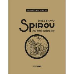 Album de luxe Black & White Spirou ou L'espoir malgré tout, Emile Bravo (2020)