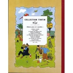 Album de Tintin: Tintin en Amérique Edition fac-similé couleurs 1976