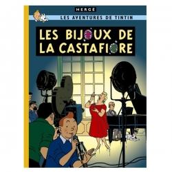 Álbum de Tintín: Les bijoux de la Castafiore Edición fac-similé colores 1963