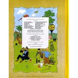 Album de Tintin: Les bijoux de la Castafiore Edition fac-similé couleurs 1963