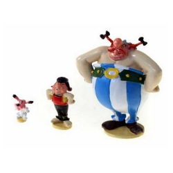 Figura de colección Pixi Asterix: Obelix, Ideafix y Pepe presionando 2355 (2020)