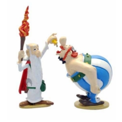 Figura de colección Pixi Asterix, Obelix y Panoramix con la poción 2357 (2020)