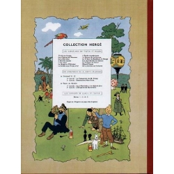 Tintin album: Les cigares du pharaon Edition fac-similé colours 1955