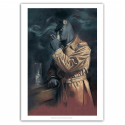 Poster offset Blacksad, Smoking John Portrait (40x60cm)