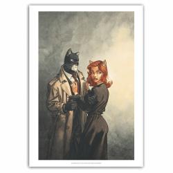 Poster affiche offset Blacksad, John et Natalia Willford (40x60cm)