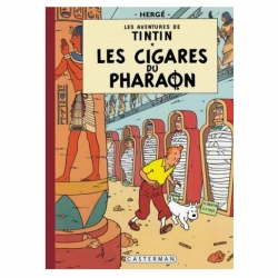 Album de Tintin: Les cigares du pharaon Edition fac-similé couleurs 1955
