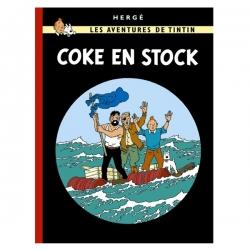 Álbum de Tintín: Coke en Stock Edición fac-similé colores 1958