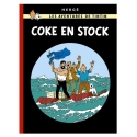 Tintin album: Coke en Stock Edition fac-similé colours 1958