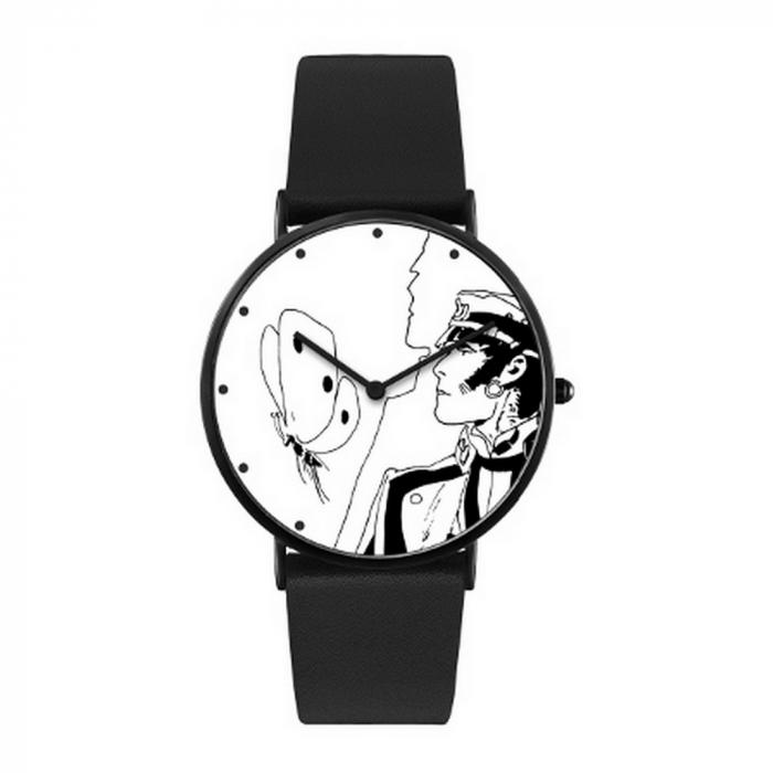 Montre en cuir Moulinsart Ice-Watch Corto Maltese pensif Classic S 82450 (2020)