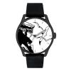 Reloj de cuero Moulinsart Ice-Watch Corto Maltés Gaviotas Classic L 82451 (2020)