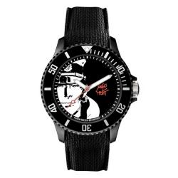 Montre silicone Moulinsart Ice-Watch Corto Maltese Sport Pratt L 82452 (2020)