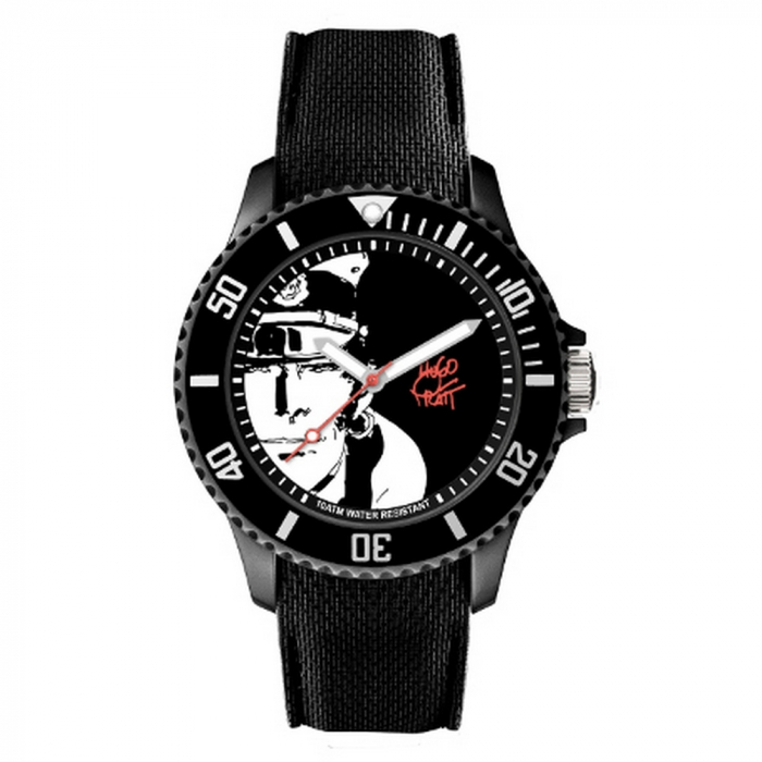 Silicone Watch Moulinsart Ice-Watch Corto Maltese Sport Pratt L 82452 (2020)