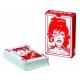 Juego de 52 cartas de baraja Corto Maltés (Rojo)
