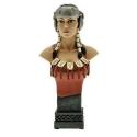 Figura busto de colección Attakus Thorgal Kriss de Valnor B416 (2009)