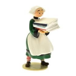 Figura de colección Pixi Bécassine con una pila de cómics 6452 (2012)